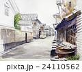 八本木宿のスケッチ 日本の古い町 24110562