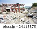 東日本大震災後2ヶ月・津波の被害にあった岩手県沿岸地域 24113375