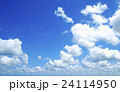 爽やかな青空と雲  24114950