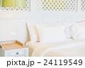 美しい ベッド 寝台の写真 24119549