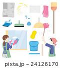 大掃除 掃除 主婦のイラスト 24126170