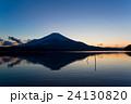 富士 富士山 湖の写真 24130820