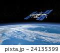 地球 宇宙ステーション ISSのイラスト 24135399