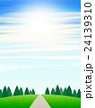 丘の上の樹木 24139310