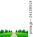 丘の上の樹木 24139314