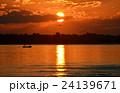 夕日 夕焼 日没の写真 24139671