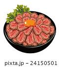 ローストビーフ ローストビーフ丼 イラスト 24150501
