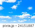 雲 空 青空の写真 24151887