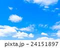 夏の空 夏の雲 梅雨あけ 24151897