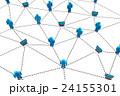 Business human social network. 24155301