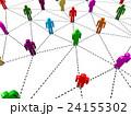 Business human social network. 24155302