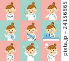 看護師 セット 女性のイラスト 24156865