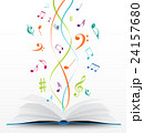メロディ メロディー 旋律のイラスト 24157680