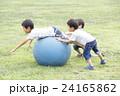 3兄弟ボール遊び 24165862