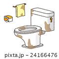 不潔なトイレ 24166476