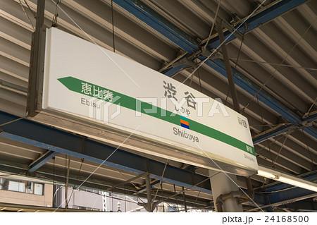 駅名標 渋谷駅 24168500