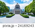 夏 国会議事堂 建物の写真 24169243