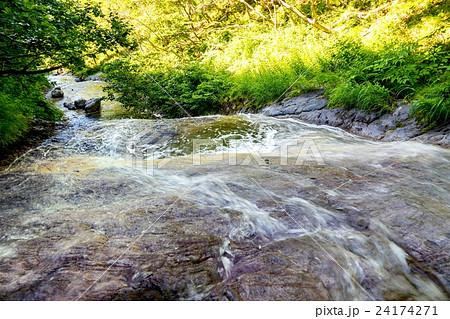 カムイワッカ湯の滝 (斜里町ウトロ) 24174271