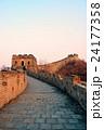 ブリック レンガ 万里の長城の写真 24177358