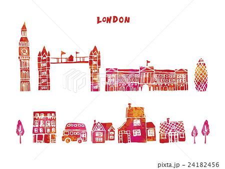 ヨーロッパ 街並み イラストのイラスト素材 24182456 Pixta