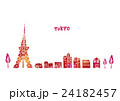 東京 水彩画 24182457