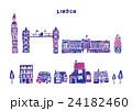 ヨーロッパ 街並み イラスト 24182460