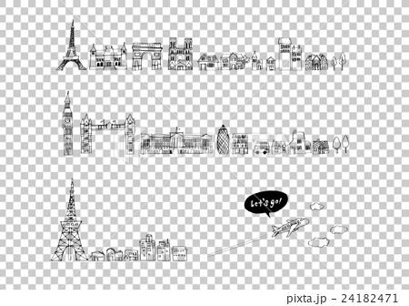 歐洲城市天際線繪圖 24182471