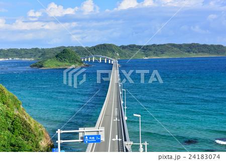 角島大橋(山口県下関市) 24183074