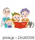 孫に本を読む 24183338