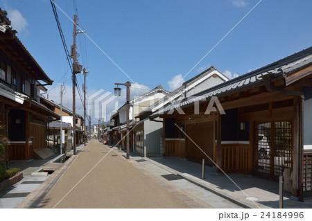 奈良県 大宇陀町の町並みの写真...