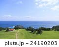 潮岬 望楼の芝 海の写真 24190203