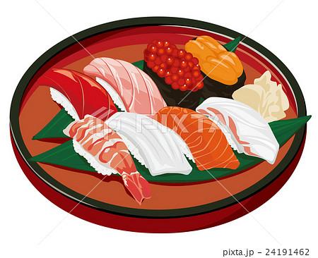 鮨 寿司 イラスト 24191462
