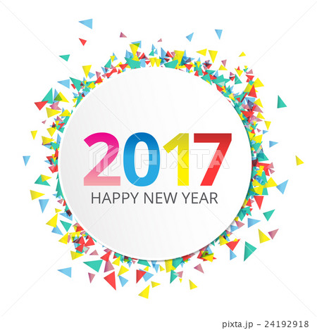 Happy new year 2017 label on background 24192918 pixta happy new year 2017 label on background voltagebd Images