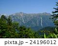 北アルプス 笠ヶ岳 夏山の写真 24196012