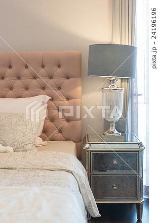 luxury bedroom design with classic lampの写真素材 [24196196] - PIXTA