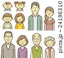 4世代家族 笑顔 24196310