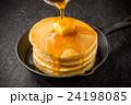 パンケーキ ホットケーキ デザートの写真 24198085