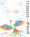 酉年年賀状 鳳凰 24200211