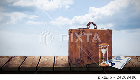 Composite image of picture of travellingの写真素材 [24203480] - PIXTA