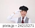 ドライバー 運転手 (タクシー TAXI 男性 バス ハイヤー 30代 会社員 営業車 制帽) 24215271
