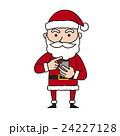 サンタ サンタクロース 男性のイラスト 24227128
