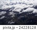 空 雲 航空写真の写真 24228128