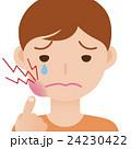 歯痛 虫歯 口内炎のイラスト 24230422