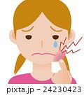 歯痛 虫歯 口内炎のイラスト 24230423