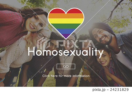 LGBT Equal Rights Rainbow Symbol Conceptの写真素材 [24231829] - PIXTA