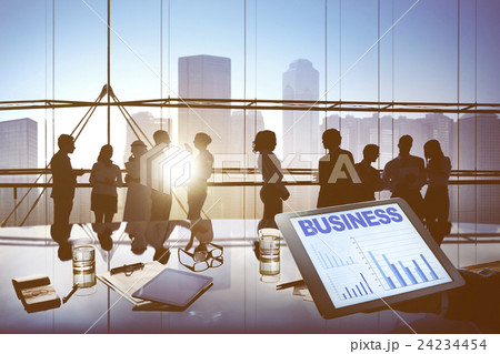 Corporate Business Communication Strategy Conceptの写真素材 [24234454] - PIXTA