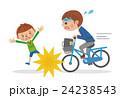 自転車 学生 ベクターのイラスト 24238543
