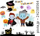 ハロウィンの怪物たち 24238564