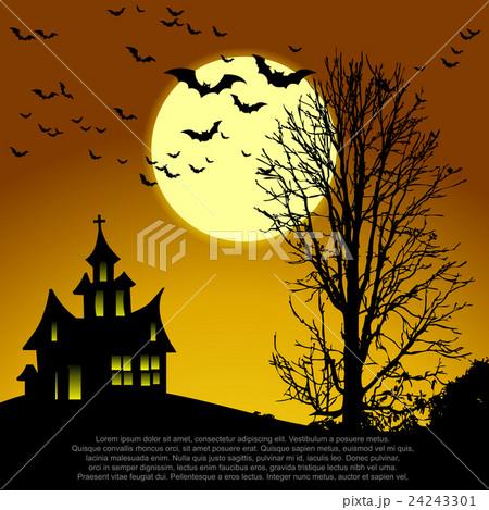 Halloween card.のイラスト素材 [24243301] - PIXTA
