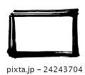 筆文字 枠(四角).n 24243704